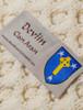 Devlin Clan Aran Poncho - Label