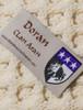 Doran Clan Aran Poncho - Label