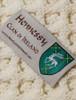 Hennessy Clan Aran Poncho - Label
