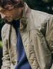 Carrickfergus Men's Waxed Jacket - Dusky Green