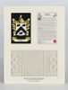 Pierce Clan Aran & History Display