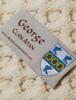 George Clan Aran Poncho - Label