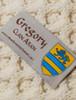Gregory Clan Aran Poncho - Label