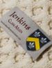 Jenkins Clan Aran Poncho - Label