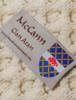 Mc Cann Clan Aran Poncho - Label