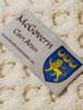 Mc Govern Clan Aran Poncho - Label