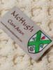Mc Hugh Clan Aran Poncho - Label