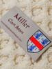 Miller Clan Aran Poncho - Label