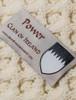 Power Clan Aran Poncho - Label