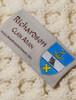 Richardson Clan Aran Poncho - Label