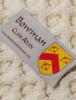 Bowman Clan Aran Poncho - Label