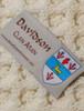 Davidson Clan Aran Throw - Label