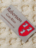Robertson Clan Scarf - Label