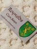 Reynolds Clan Aran Poncho - Label