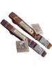 Tweed Dog Collar Metal Buckle - Burgundy Plaid