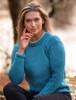 Ladies Roll Neck Sweater - Sky Blue