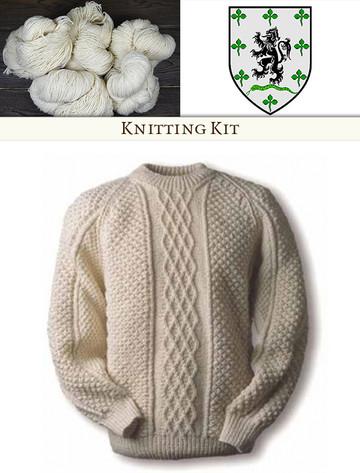 Gallagher Knitting Kit