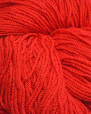 Aran Wool Knitting Hanks - Scarlet