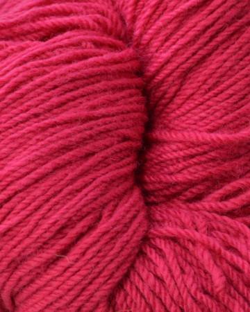 Aran Wool Knitting Hanks - Cerise