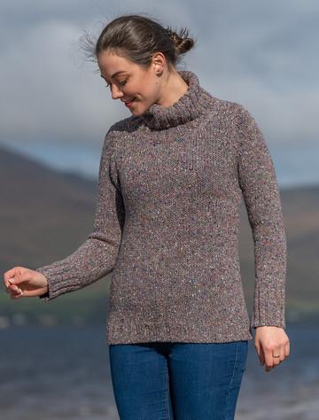 Donegal Turtleneck Sweater - Burren
