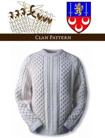 Mc Loughlin Knitting Pattern