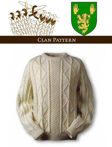 O'Keeffe Knitting Pattern