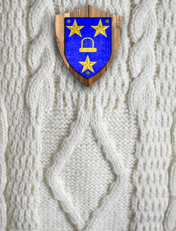 Murray Clan Aran Throw