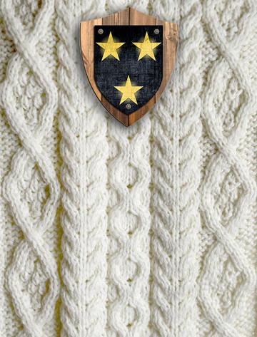 Moran Clan Aran Throw