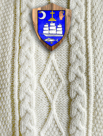 Mc Donnell Clan Aran Throw