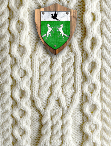 O'Donoghue Clan Aran Throw