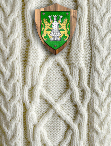 O'Shaughnessey Clan Aran Throw