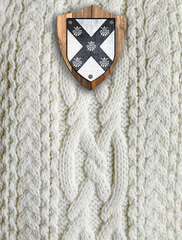 Connolly Clan Aran Throw