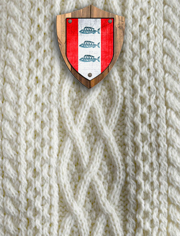 Delaney Clan Aran Throw