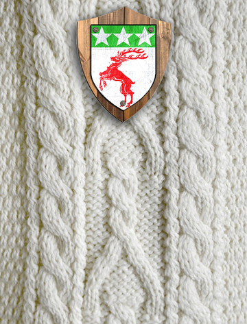Doherty Clan Aran Throw