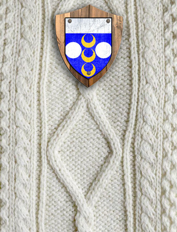 Dolan Clan Aran Throw