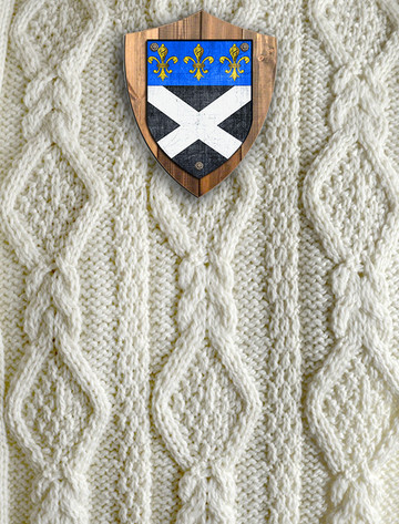 Fitzpatrick Clan Aran Throw