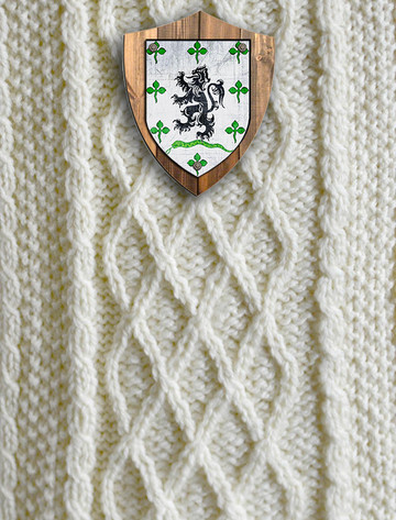 Gallagher Clan Aran Throw