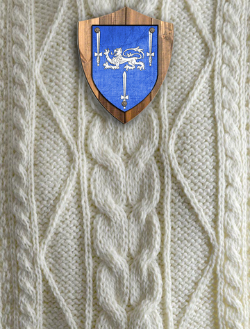 Gorman Clan Aran Throw