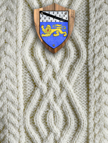Hickey Clan Aran Throw