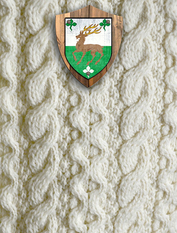O'Connell Clan Aran Throw