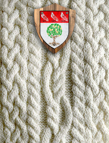 Hegarty Clan Aran Throw