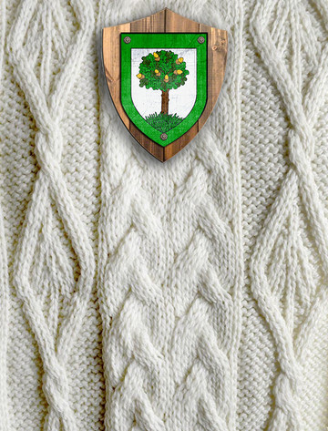 Flanagan Clan Aran Throw