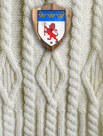 Jennings Clan Aran Throw