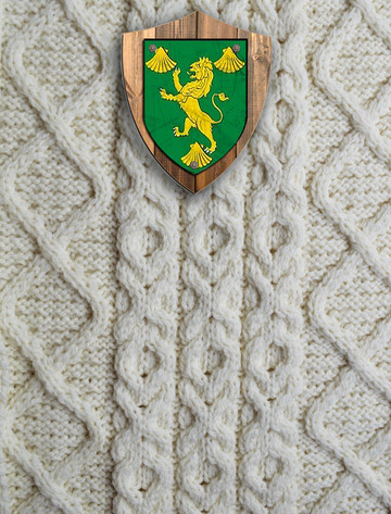 Reynolds Clan Aran Throw