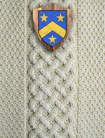 Monaghan Clan Aran Throw