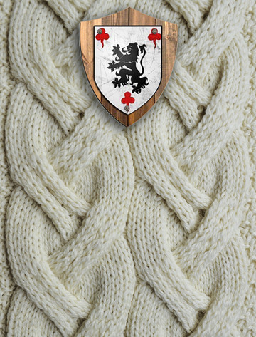 Molloy Clan Aran Throw