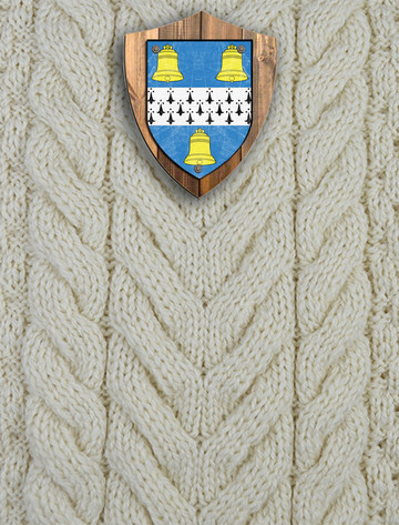 Bell Clan Aran Throw