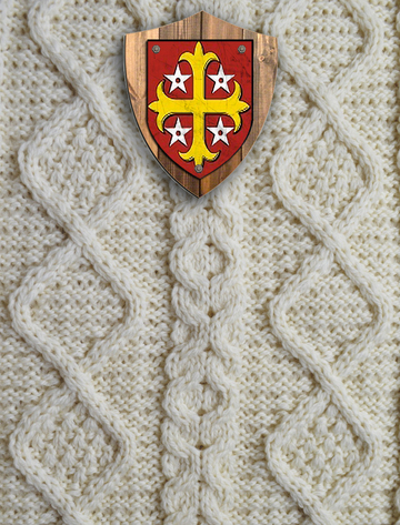 Scully Clan Aran Throw
