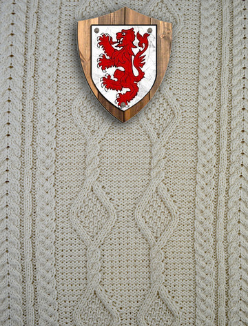 Russell Clan Aran Throw