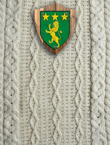 Mulcahy Clan Aran Throw